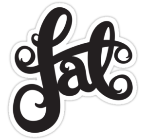 Fat stickers