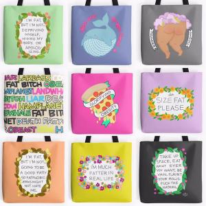 Glorfying obesity bags